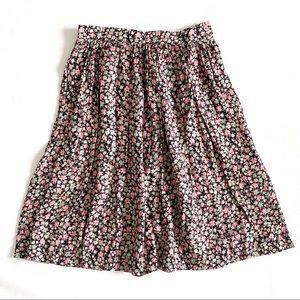 🌟Host Pick🌟Vintage 80's Floral Skirt